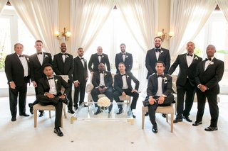 manny-smith-interscope-wedding-groom-groomsmen-and-fathers-in-black-tuxes-groom-in-ralph-lauren
