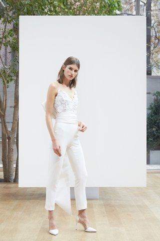margaux-oscar-de-la-renta-spring-2018-ivory-stretch-silk-jumpsuit-guipure-lace-silk-faille-obi-bow