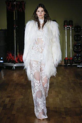 rivini-fall-2018-embroidered-lace-maxi-shift-dress-bralette-boy-shorts-goat-hair-jacket