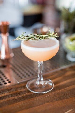 wedding-signature-cocktail-craft-libation-athena-by-phidias-spiced-rum-lemon-juice-honey-egg-white