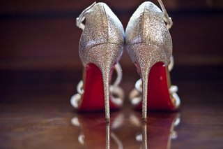 silver-sparkly-christian-louboutin-strappy-bridal-high-heels
