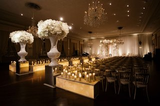 wedding-ceremony-ballroom-chicago-warm-wedding-candlelight-candles-boxes-custom-decor