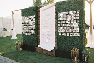 wedding-seating-chart-with-photos-and-quote-from-r-m-drake