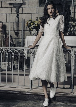 laure-de-sagazan-2017-collection-gary-tea-length-gown-quarter-length-sleeves-lace