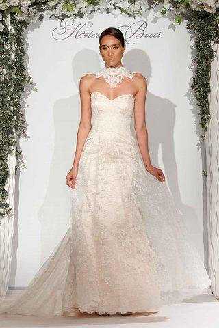 katerina-bocci-2017-bridal-collection-keira-mermaid-wedding-dress-strapless-lace-chantilly-alencon