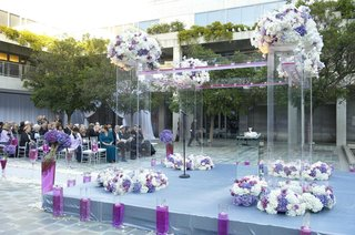 clear-chuppah-with-purple-and-white-flowers-at-outdoor-ceremony