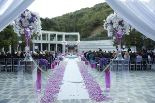 skirball-cultural-center-wedding-ceremony-outdoors