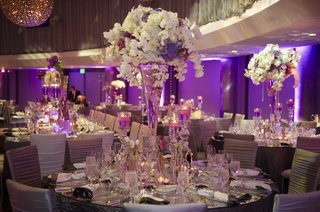 purple-white-and-silver-wedding-reception-decorations