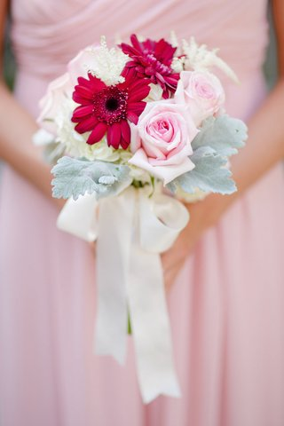 bouquet-with-dusty-miller-pink-rose-fuchsia-daisy-and-white-flowers