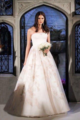 oleg-cassini-spring-2018-wedding-dress-strapless-ball-gown-blush-flower-print-floral-design-on-skirt