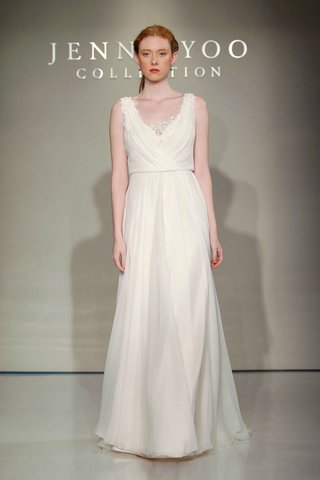 jenny-yoo-bridal-2016-tank-sheath-wedding-dress-with-v-neck