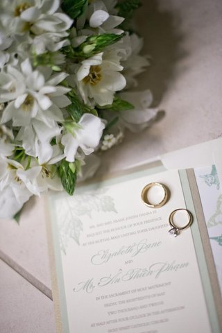light-green-and-gold-garden-wedding-invite