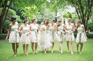 short-bridesmaid-dresses-with-flower-details