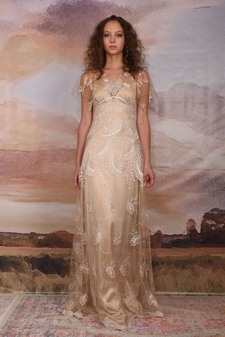 claire-pettibone-vagabond-collection-2018-seychelles-wedding-dress-feather-embroidery-silver-silk