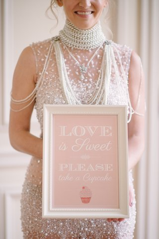 pink-sign-for-wedding-dessert-table