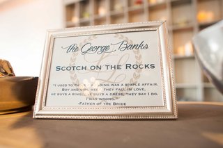 signature-cocktail-menu-scotch-on-the-rocks-called-the-george-banks-after-father-of-the-bride