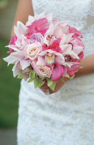 light-and-hot-pink-florals-in-brides-bouquet