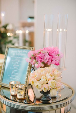pink-ivory-blooms-on-accent-table