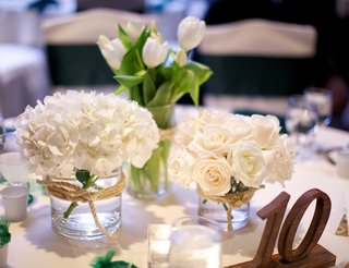 rustic-reception-decorations-with-wood-table-number