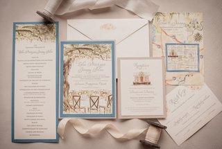 wedding-invitation-invite-momental-designs-paper-goods-blue-green-tree-hand-painted-pretty-details