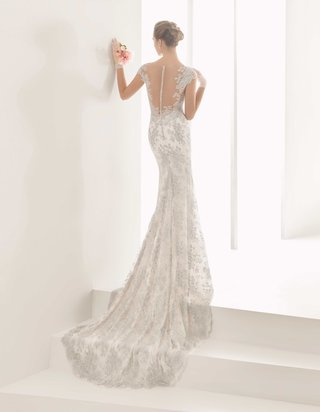rosa-clara-bridal-naia-wedding-dress-with-silver-embroidery-illusion-back-cap-sleeves-slim-fit