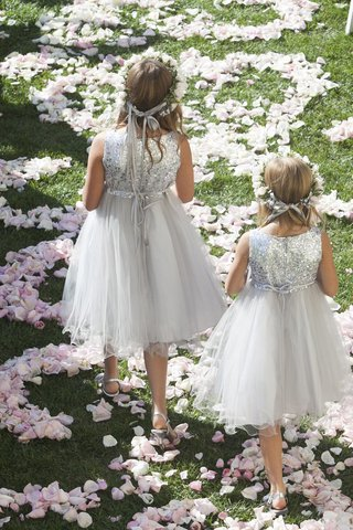 flower-girls-in-metallic-sequin-dresses-with-flower-crowns