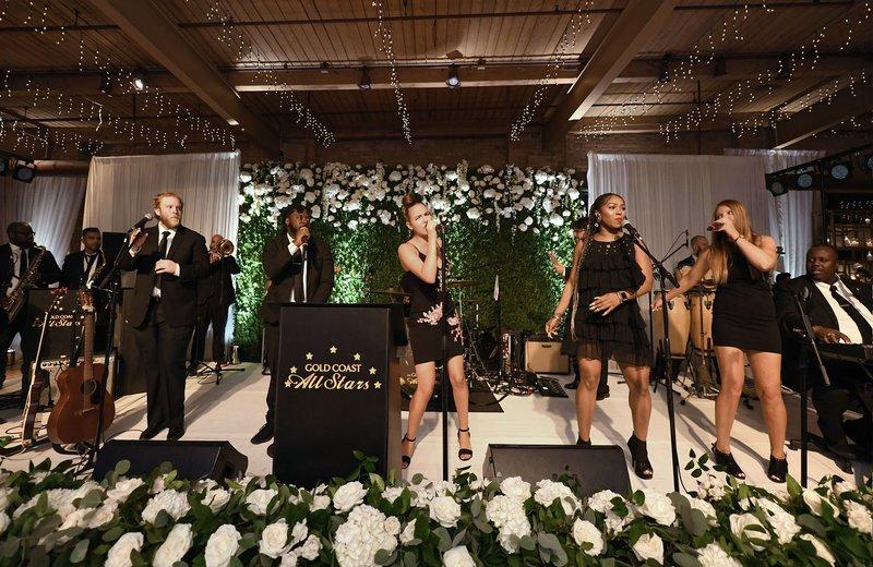 The Gold Coast All Stars at Wedding