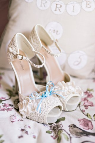platform-heels-lace-blue-ribbon-detailing-buckle-strap-ivory-white