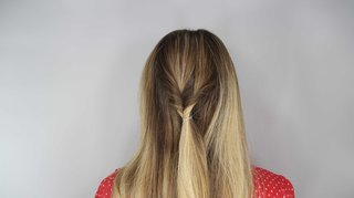 how-to-diy-wedding-hairstyle-topsy-tail-faux-braid-step-number-three