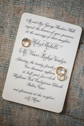 wedding-invitation-for-traditional-wedding-ceremony-church-and-at-home-reception-gold-rings-on-top