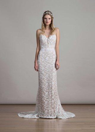 bridal-fashion-week-liancarlo-sheath-wedding-dress-lace-sleeveless-illusion-deep-v-neck-and-back