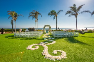 lawn-ceremony-beach-floral-aisle-runner-outdoors-hotel-del-coronado-california-wedding-design