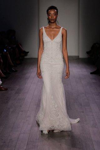 lazaro-spring-2016-v-neck-wedding-dress-with-beaded-bodice-and-skirt-details