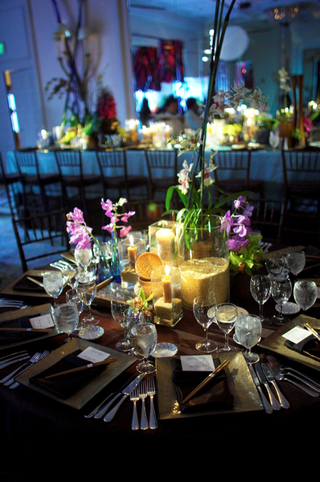 colorful-decor-including-orchid-flowers-and-brown-rice