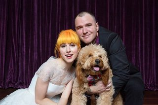 hayley-williams-of-paramore-and-chad-gilbert-of-new-found-glory-with-their-dog