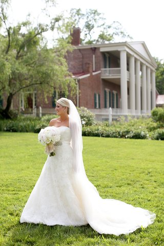 strapless-wedding-gown-lace-wedding-dress-wedding-dress-with-belt