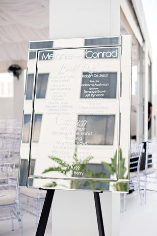 bridal-party-names-and-information-displayed-on-easel