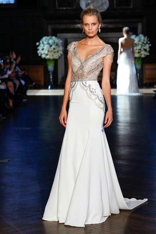 alon-livne-white-fall-2016-cap-sleeve-beaded-bodice-and-chiffon-skirt-wedding-dress