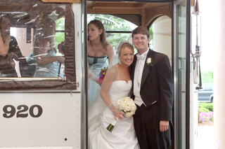 brooke-anderson-and-groom-en-route-to-ceremony
