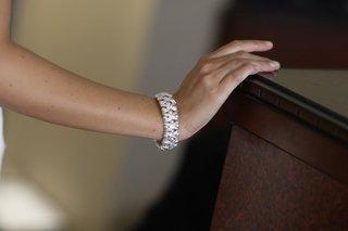 bride-wearing-diamond-cuff-bracelet