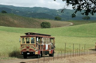 wedding-transportation-in-san-francisco-style-trolley