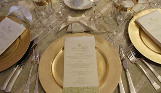 gold-charger-plate-with-white-and-green-menu