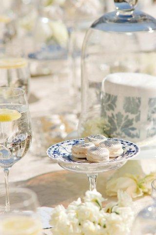 shiny-macarons-served-on-fine-china