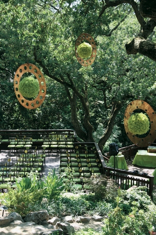 backyard-wedding-ceremony-surrounded-by-trees
