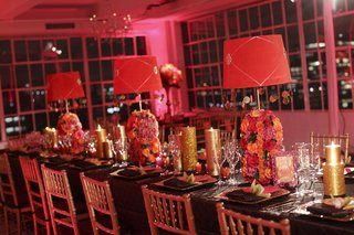 brown-linens-topped-with-pink-lampshades