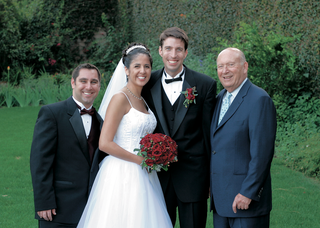 bride-and-groom-with-father-and-best-man
