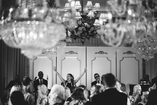black-and-white-photo-of-the-james-gang-band-at-a-wedding-in-montage-laguna-beach-ballroom