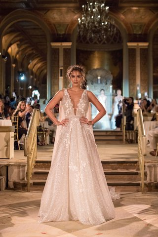 idan-cohen-fall-winter-2018-empire-of-love-wedding-dress-plunging-v-neck-a-line-bridal-gown