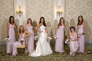 light-pink-or-violet-dresses-and-floral-bouquets