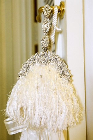 feather-tassels-and-crystals-on-bridal-bag